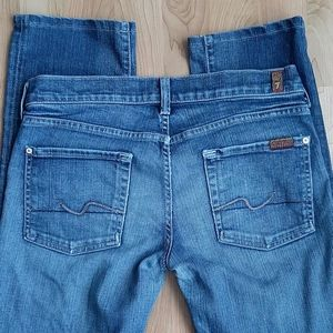 7 for All Mankind Jeans Straight Size 28